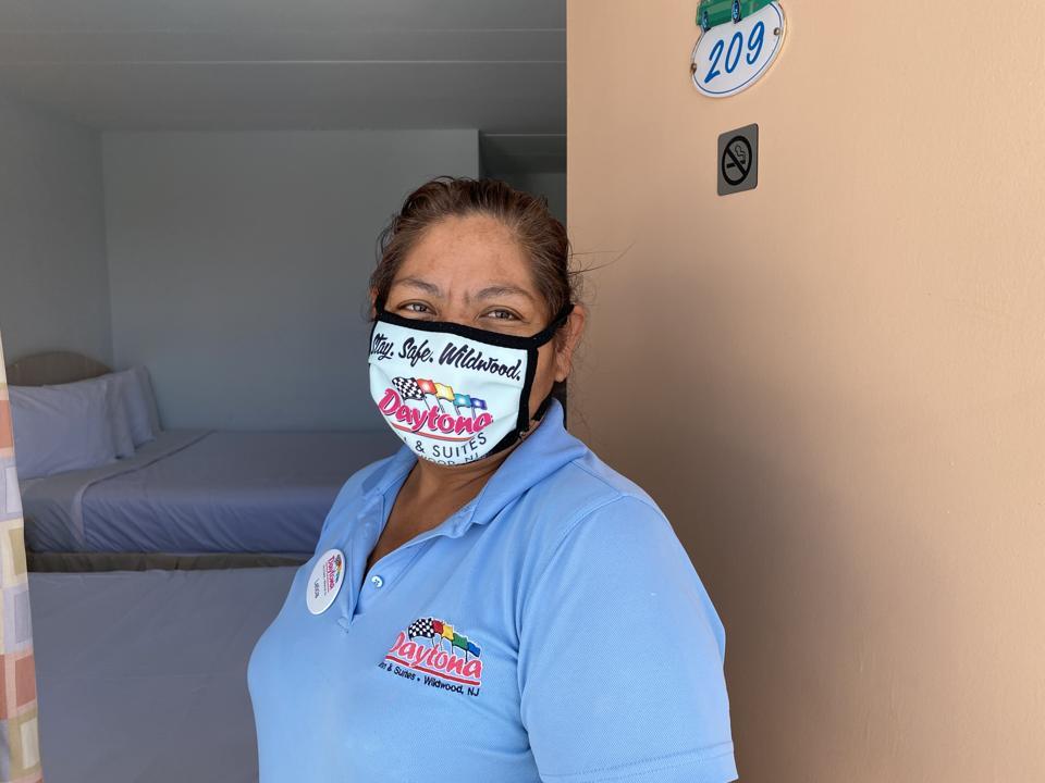Daytona hotel staffer wildwoods coronavirus covid pandemic beach vacation