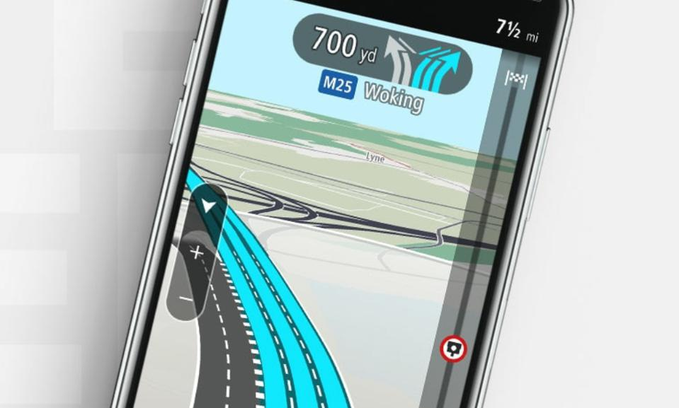 Don't miss the turn-off on the freeway with TomTom Go Navigation Lane Guidance.