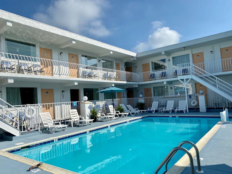 Daytona Inn & Suites wildwood beach vacation pandemic coronavirus covid