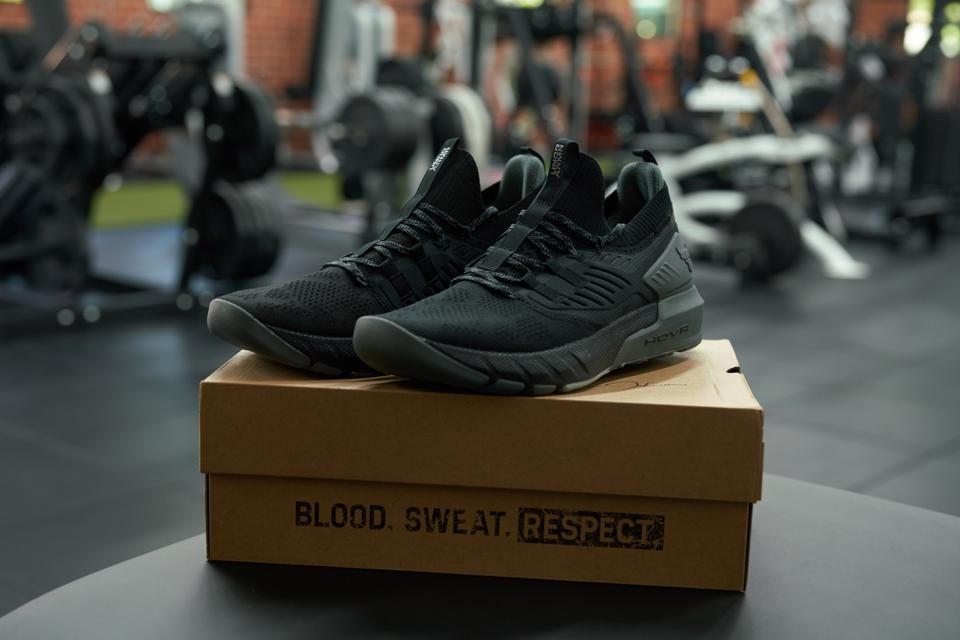 Dwayne ″The Rock″ Johnson Project Rock P3 sneakers with Under Armour