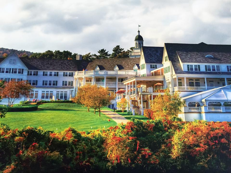 The Sagamore Resort during the daylight.