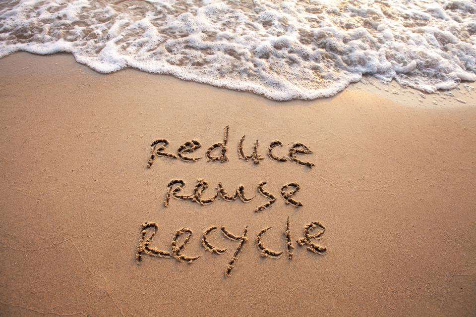 reduce reuse recycle, sustainability concept