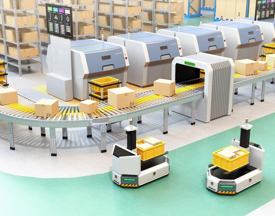Automated vehicles and machinery reduce the need for warehouse staff to work closely.