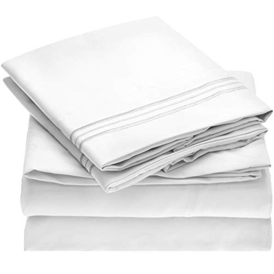 Mellanni Bed Sheet Set, Queen