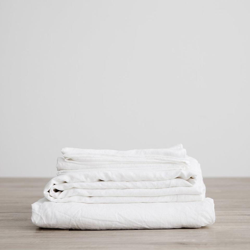 Cultiver Linen Sheet Set, Queen