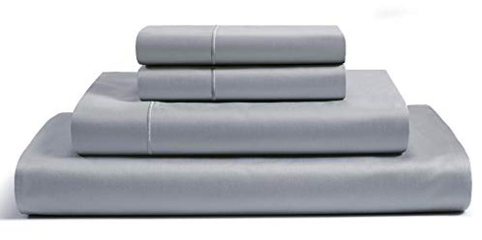Chateau Home Collection 100% Egyptian Cotton 800 Thread Count 4-Piece Sheet Set, Queen
