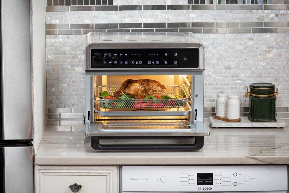 modernhome 30Qt Touchscreen Air Fryer Toaster Oven