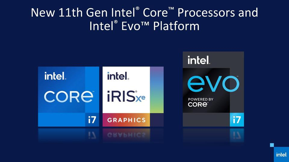 Intel's 11th Gen Core Processors And 'Evo' Platform Brand Raises The Notebook Processor Competitive Stakes