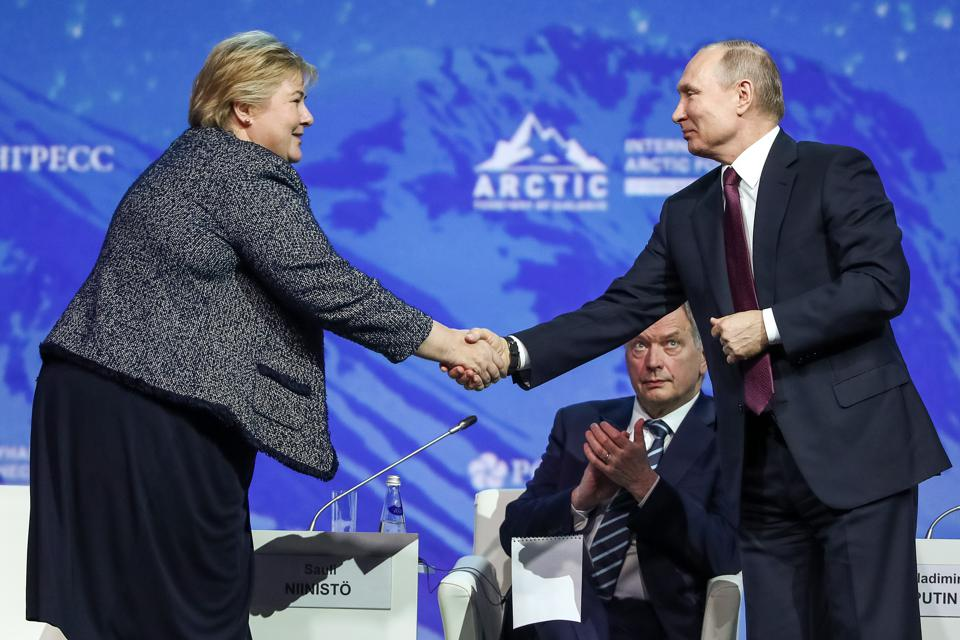 2019 International Arctic Forum: Plenary Session ″The Arctic: An Ocean of Opportunity″