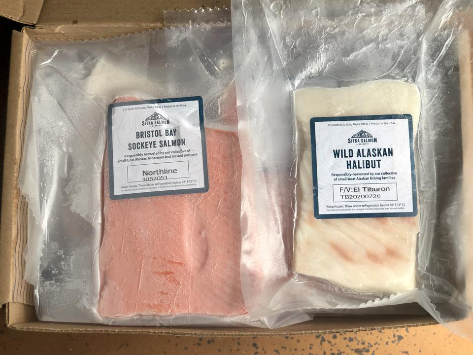 Sitka Salmon Shares features seafood from Alaska