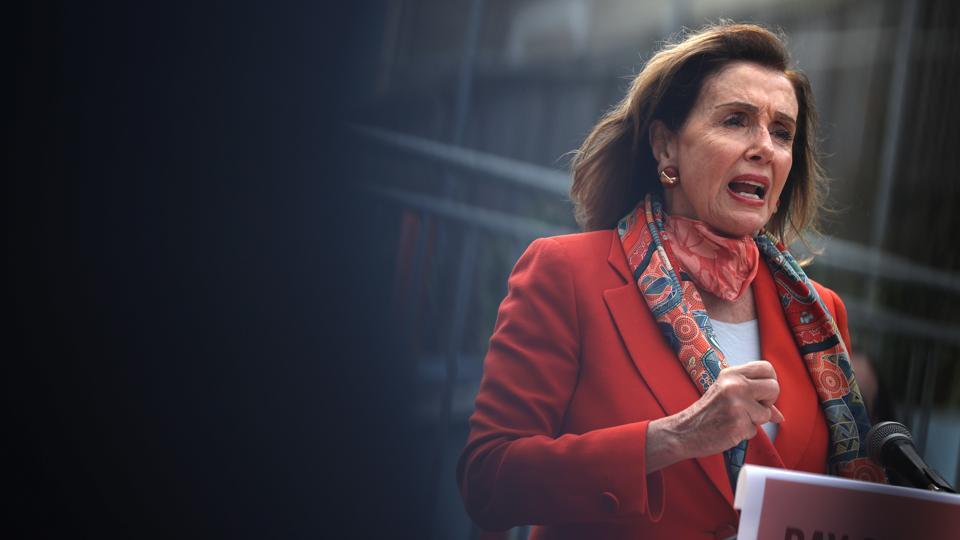 House Speaker Nancy Pelosi Draws Criticism For Patronizing A Closed Hair Salon