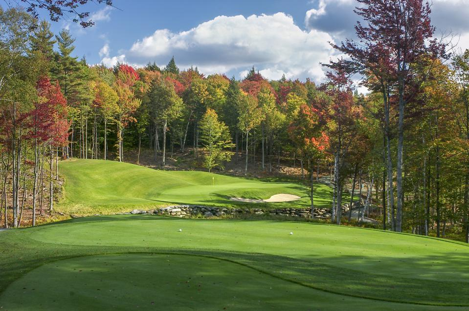 5th Hole Montcalm Golf Club NH