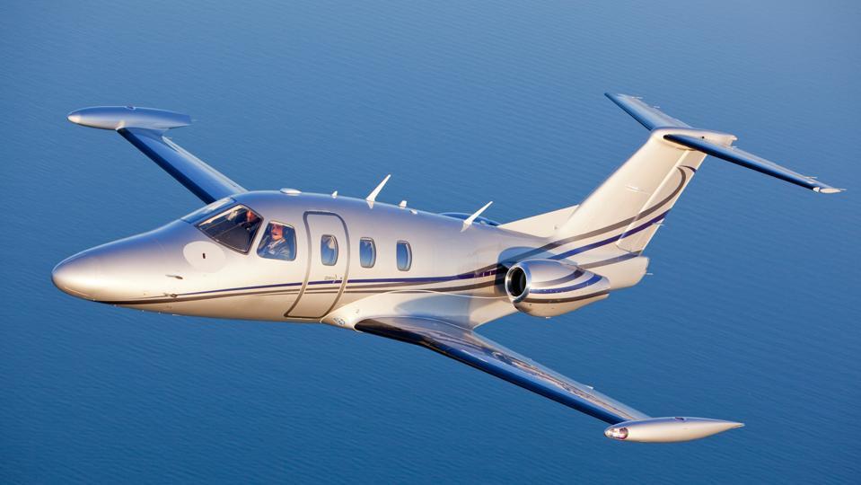 The Eclipse 500 Very Light Jet.
