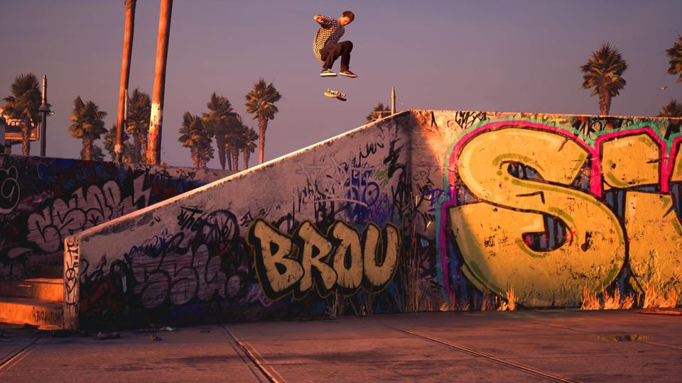 Les emplacements classiques de Tony Hawk's Pro Skater 1 + 2 restent les mêmes, avec des graphismes mis à jour