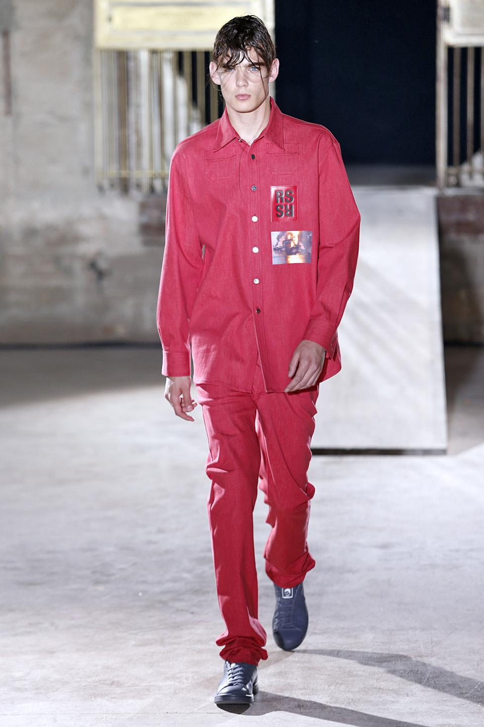 Raf Simons : Runway - Paris Fashion Week - Menswear S/S 2015