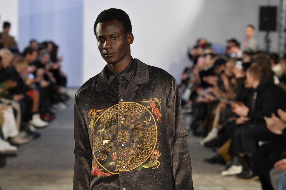 GMBH : Runway - Paris Fashion Week - Menswear F/W 2020-2021
