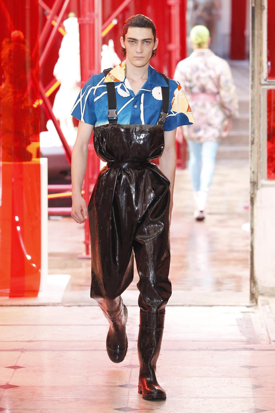 Maison Margiela : Runway - Paris Fashion Week - Menswear Spring/Summer 2019