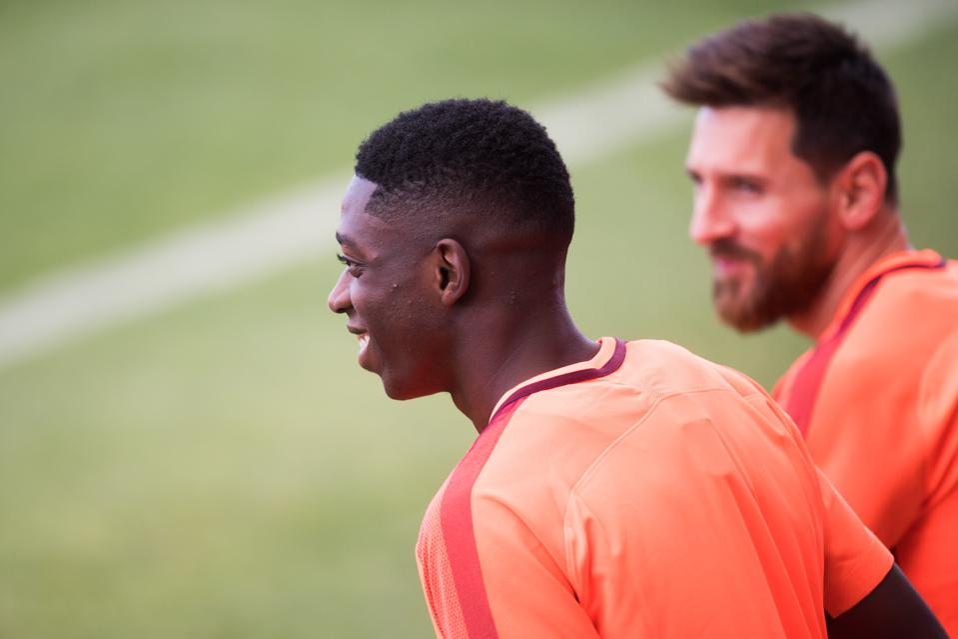 Ousmane Dembele has been reborn in training under Ronald Koeman.