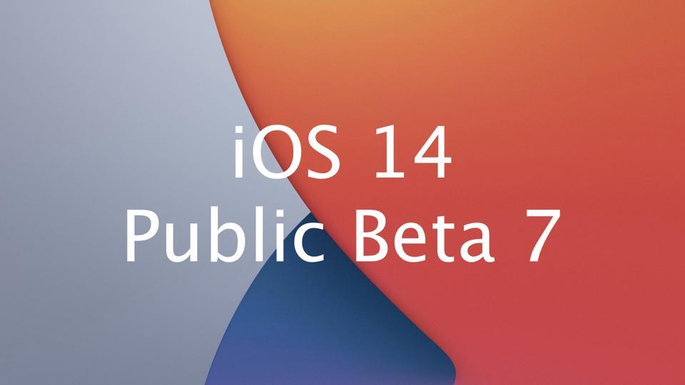 iOS 14 Public Beta 7