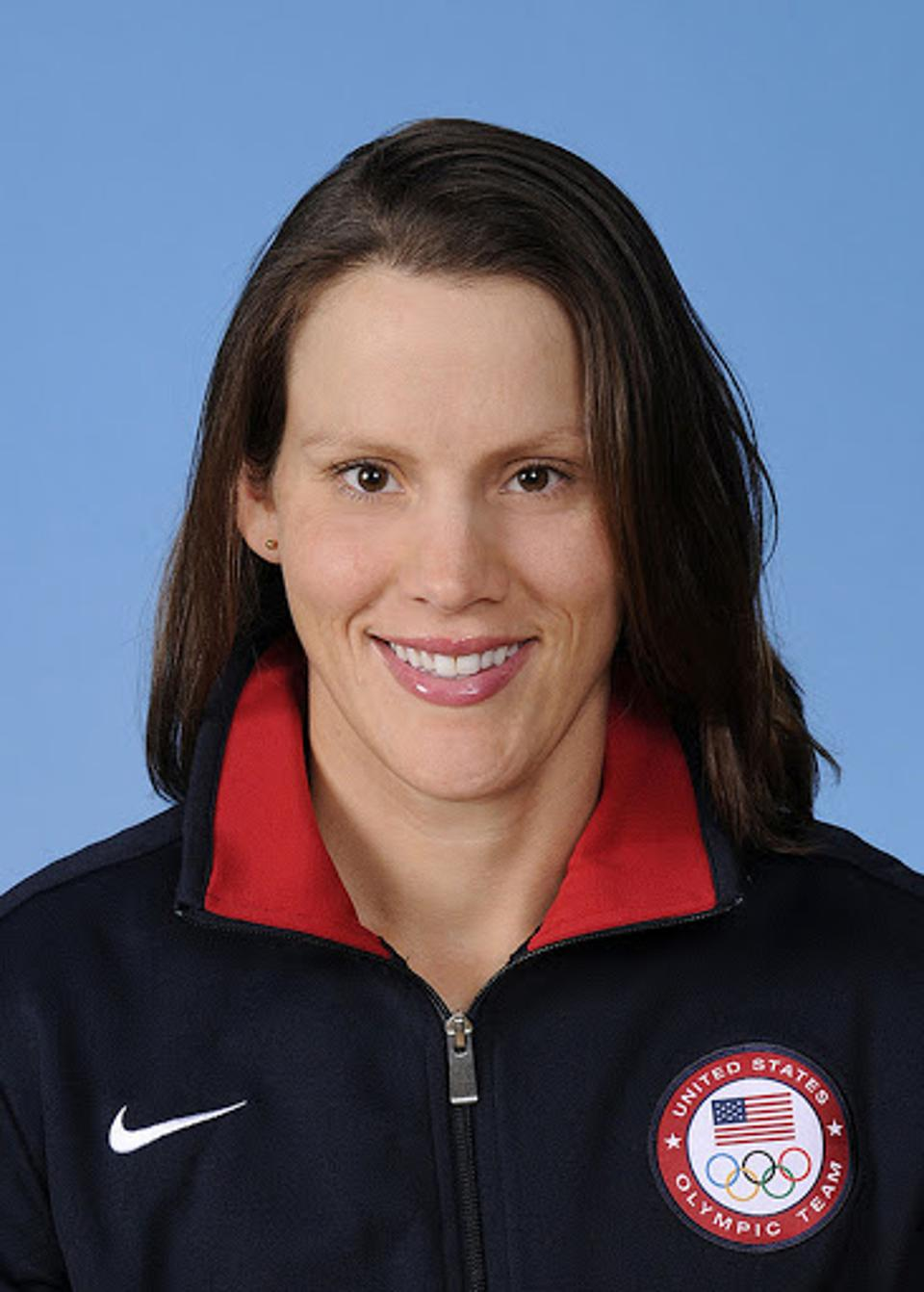 Olympic gold medalist (rowing), Caryn Davies.