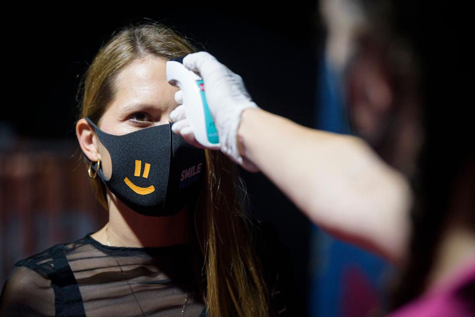 Temperature control for Covid in Slovenia amid new Europe virus wave and travel bans