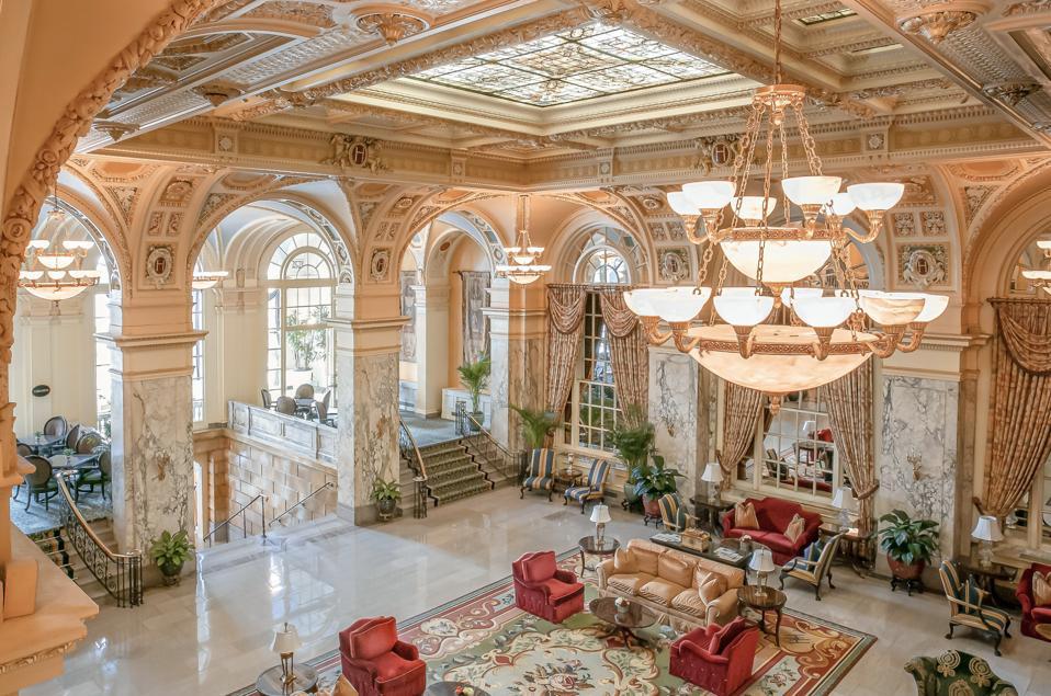 The Hermitage Hotel Nashville.