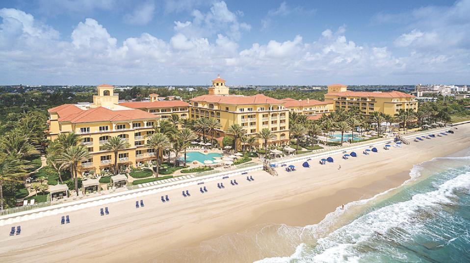 Eau Palm Beach Resort and Spa.