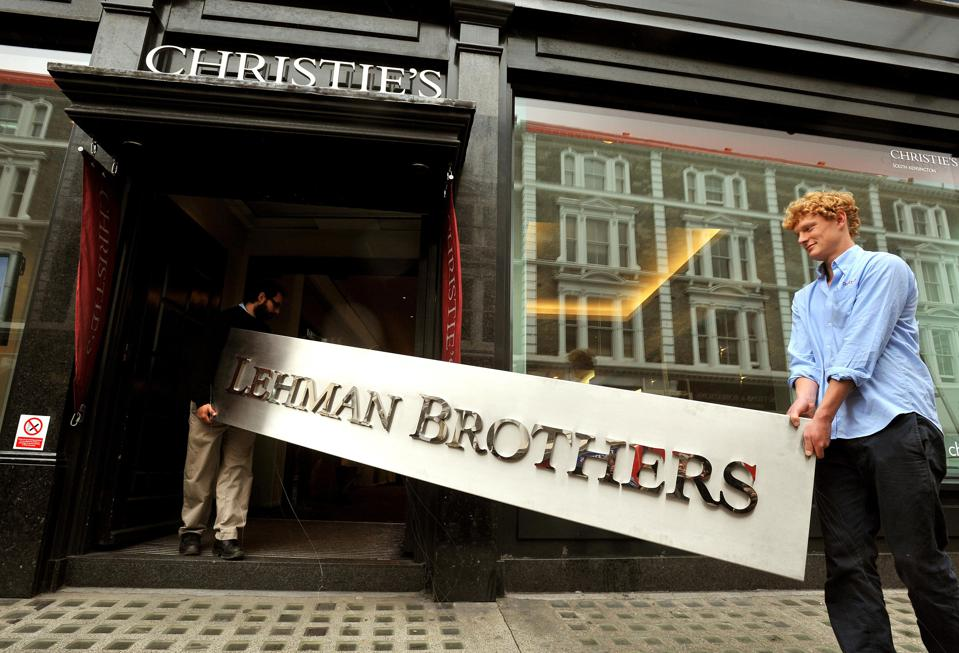 Lehman Brothers auction Christie's