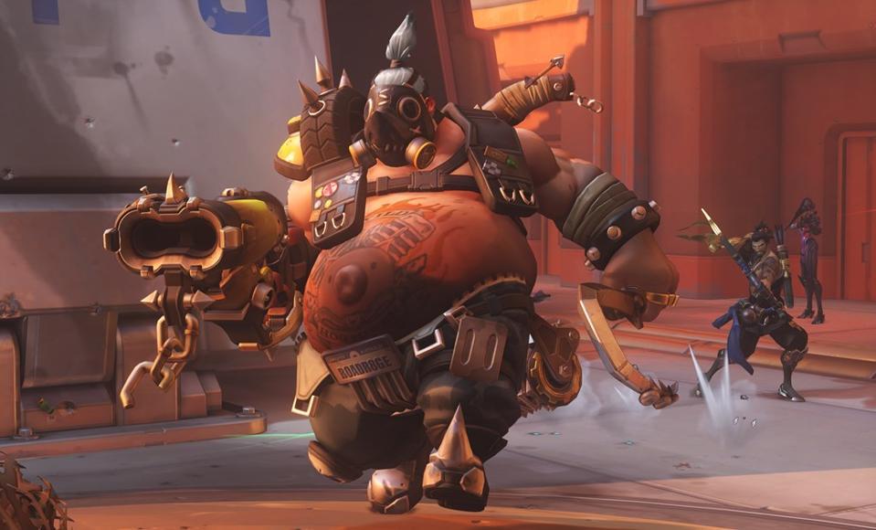 Overwatch hero Roadhog