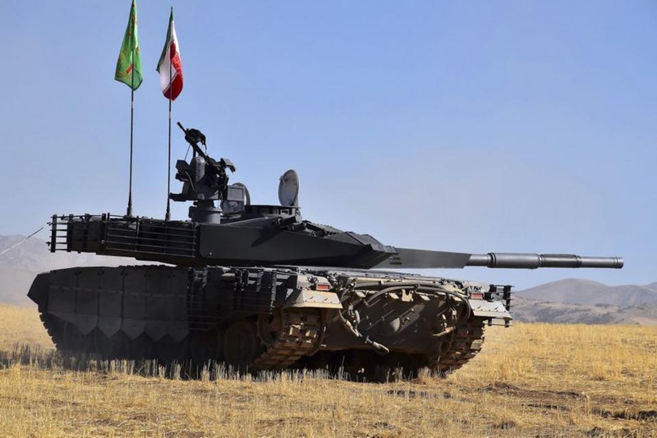 Iran, Iranian tank, Karrar, tank,