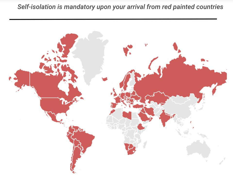 red list countries - photo #50