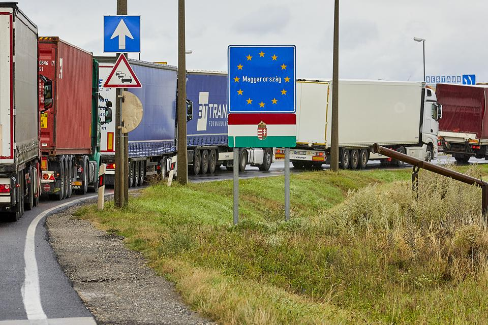 Hungary border control as new Covid travel restrictions sweep Europe EU