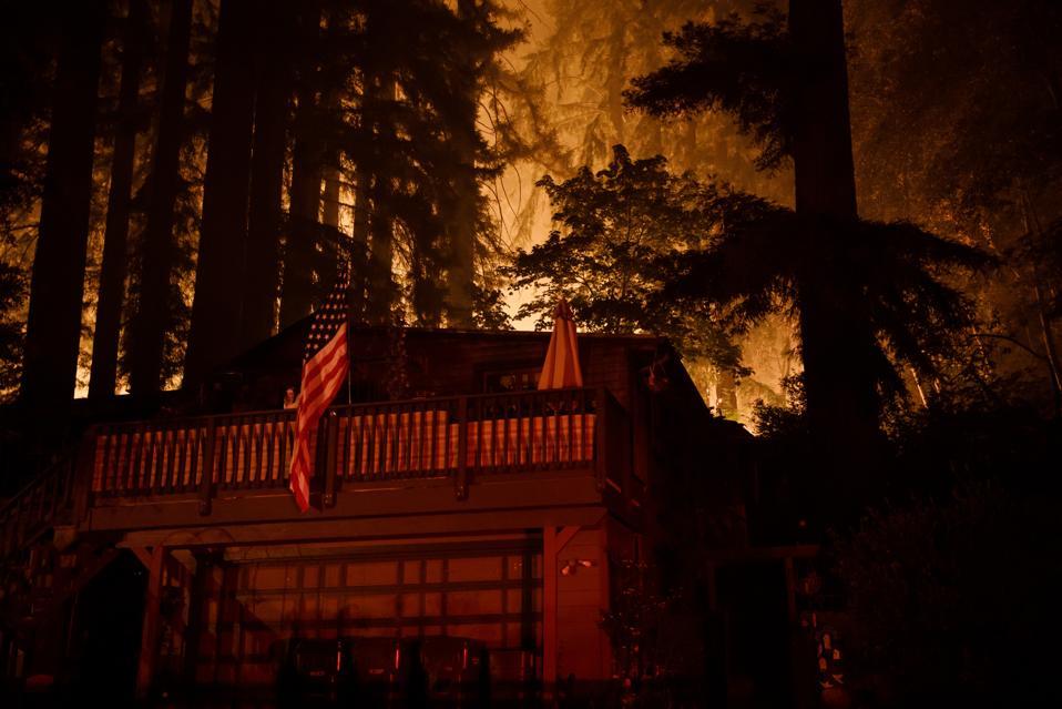 CZU Lightning Complex devastation Santa Cruz