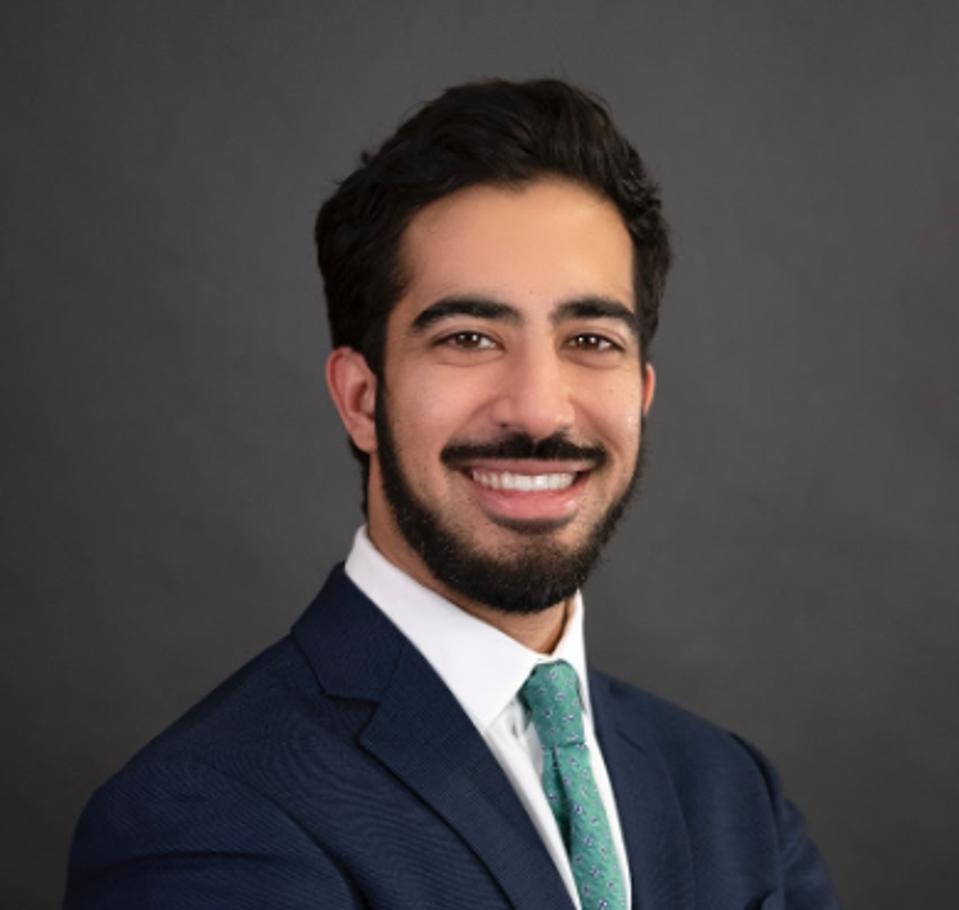 Headshot of Faheem Ahmed