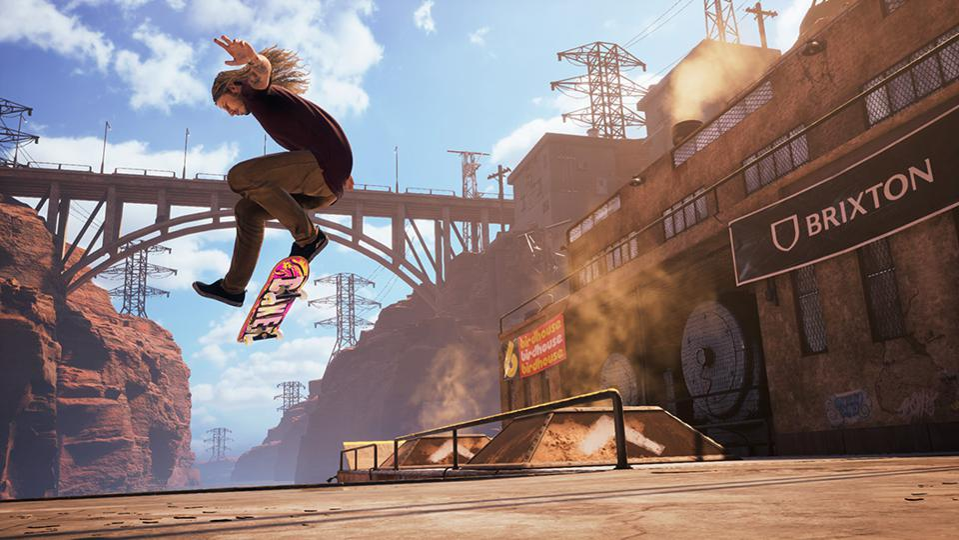 Riley Hawk in Phoenix Downhill Jam in Tony Hawks Pro Skater 1 + 2 remake