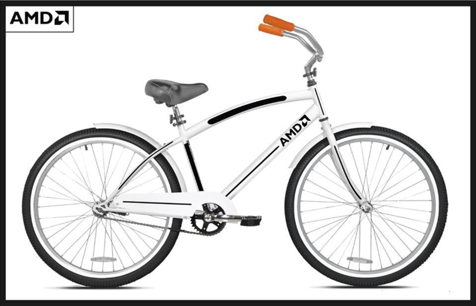 The AMD Custom Cruiser bicycle