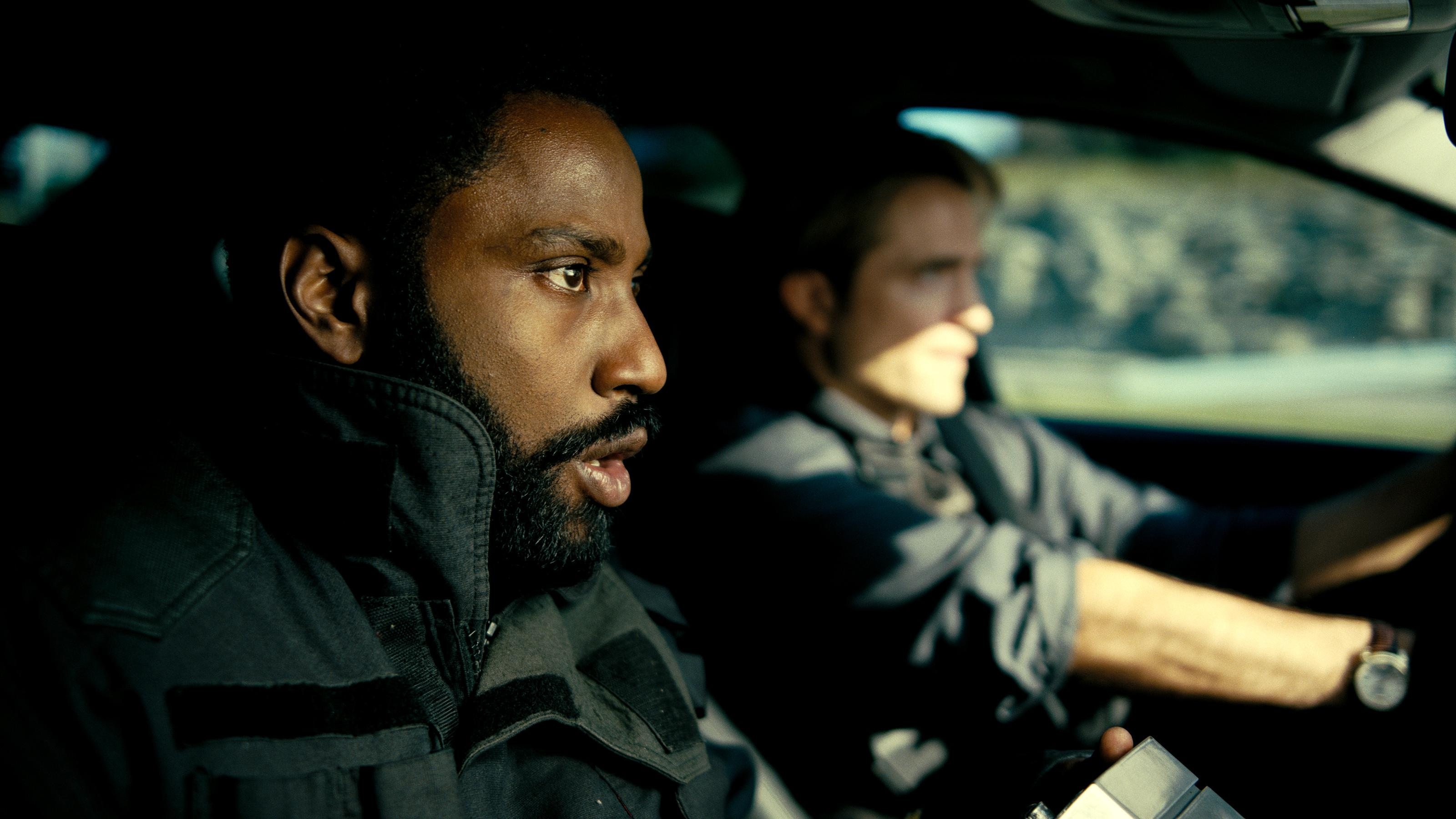 John David Washington and Robert Pattinson in Chris Nolan's 'Tenet'