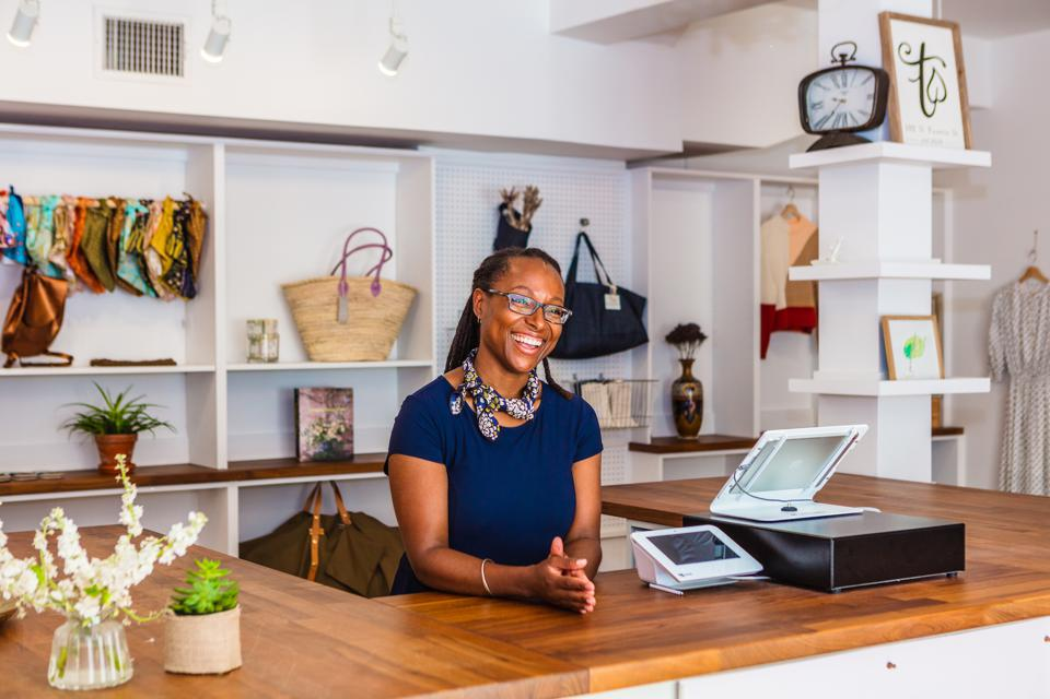 Visit Alexandria Nicole McGrew Threadleaf Boutique sustainable fashion Virginia