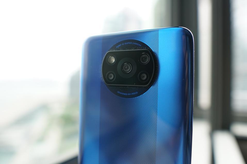 The X3 NFC has a quad camera system.