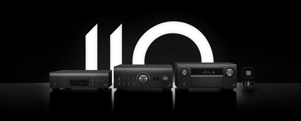 Denon 110 Anniversary products