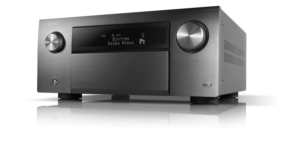 Product shot of Denon AVC-A110 13.2-channel 8K AV amplifier
