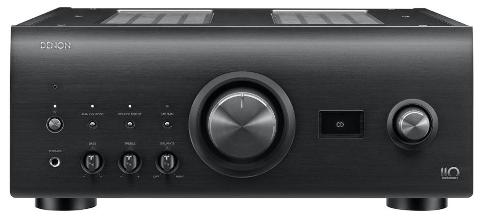 Front view Denon PMA-A110 Integrated amplifier
