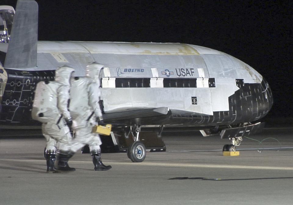 X-37B Orbital Test Vehicle 1
