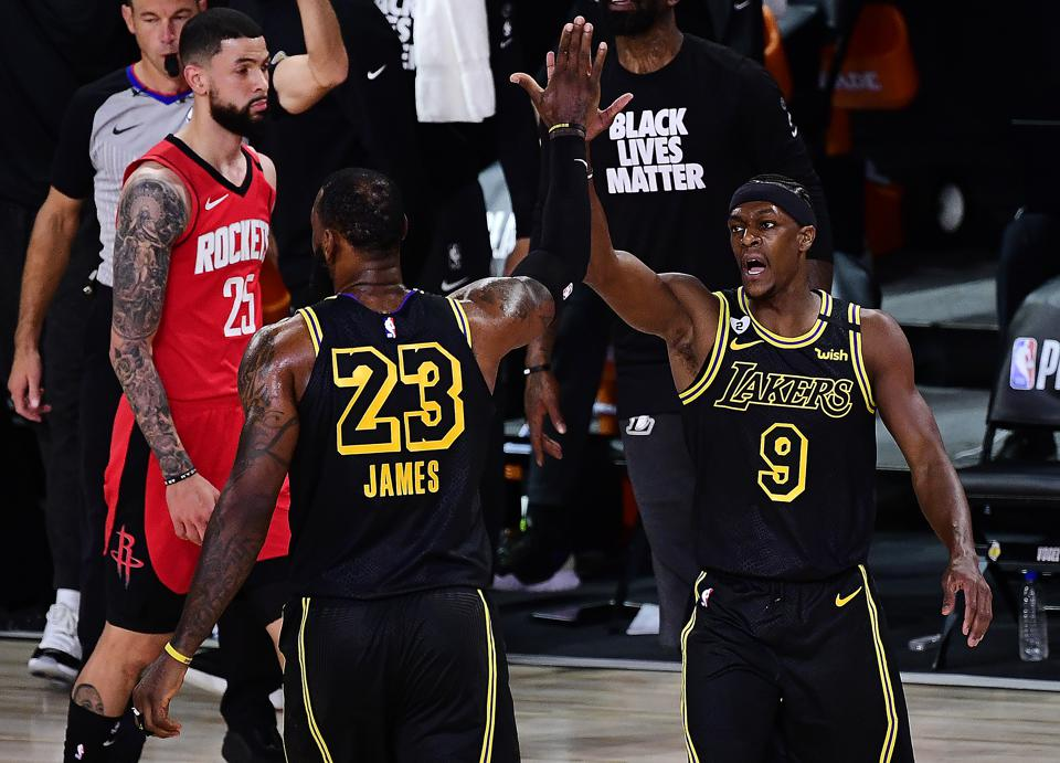 Rajon Rondo Was Major X Factor For Lakers In Game 2 Vs Rockets