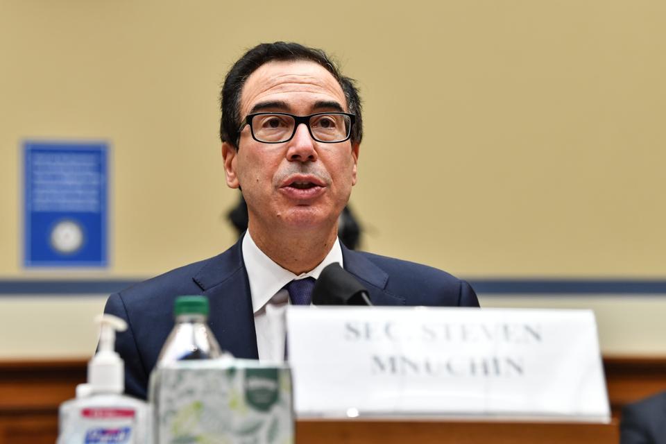 Treasury Secretary Mnuchin Testifies