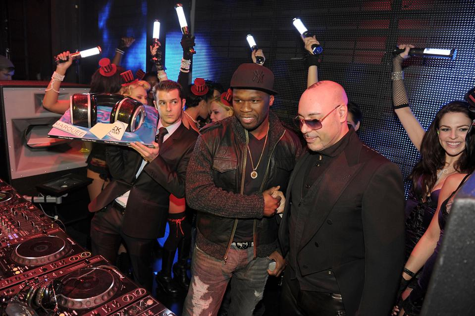 50 Cent Releases Sleek By 50 Cent Wireless Headphones At Marquee Nightclub At The Cosmopolitan Of Las Vegas