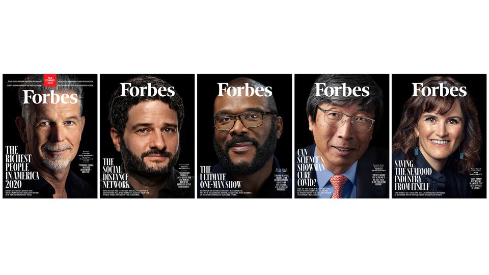 Forbes 400 Five Covers