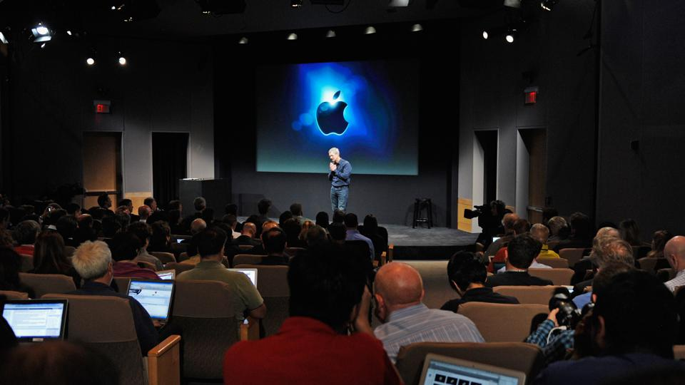 New Apple CEO Tim Cook Introduces iPhone 4s in the month that Steve Jobs died
