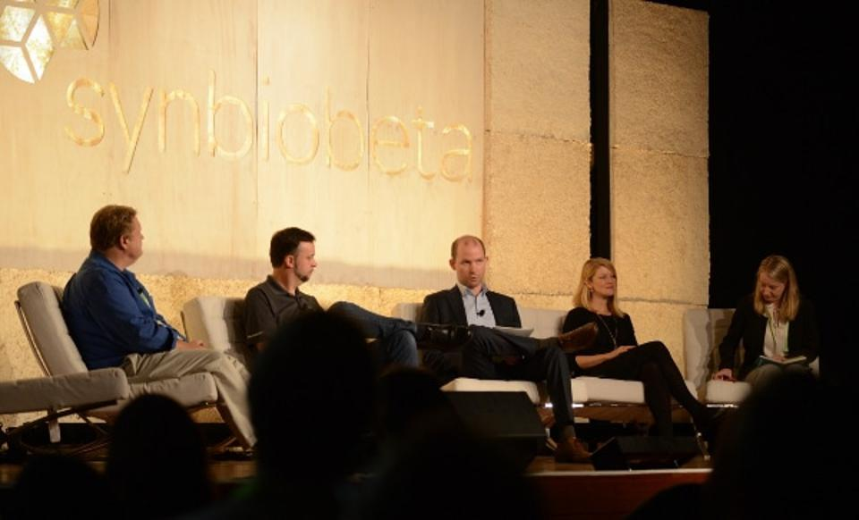 A panel discussion at SynBioBeta Conference. Conversations such as these encourage scientists and engineers to think through technical and institutional safeguards to prevent misuses that would hamper the public benefits of their new technologies.