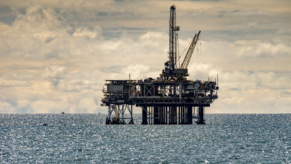 Off-Shore Oil Platform